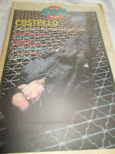ELVIS COSTELLO - RAM -OZ MUSIC MAG - 1981 - RADIO BIRDMAN-QUEEN-PAUL KELLY