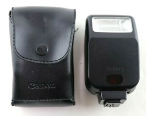 Canon Speedlite 200E Flash with Case AS/IS For Parts
