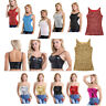 Fashion Women Sequined Crop Top Sleeveless T Shirt Blouse Shining Tank Tops Cami