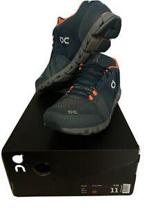 On Cloud Men's Cloud X New Generation Running Shoes Storm / Flash 11 US