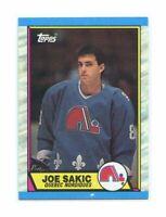 1989-90 Topps #113 Joe Sakic Quebec Nordiques Rookie Card