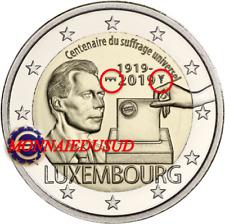 2 Euro Commémorative Luxembourg 2019 BU Suffrage Universel Pont de Selve