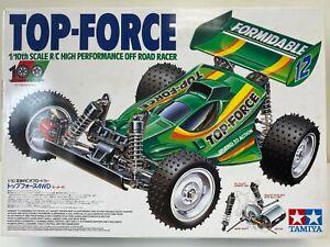 Tamiya Top-Force 2005 Vintage 1/10 RC 4WD Off-road Racer 58362 Egress Avante NIB