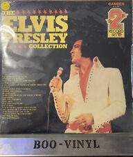 SEALED -THE ELVIS PRESLEY COLLECTION DOUBLE VINYL 2 RECORD SET PDA009 MINT CON