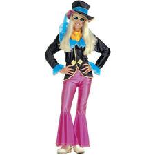 Ladies Funky Hippie Hippy Fancy Dress Costume Woodstock 60's 70's Party Outift