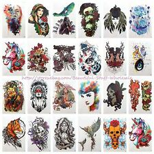 "20 sheets wholesale large 8.25"" temporary arm tattoo BIG DIY Body Art codeA1A8"