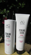 AG hair  Sterling Silver Duo  Shampoo  10 oz. & Conditioner  6 oz. Free Shipping