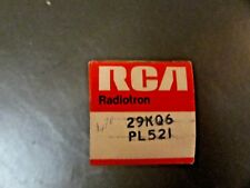 29KQ6 / PL521 RCA VINTAGE VACUUM TUBE, (NEW IN BOX / NEW OLD STOCK)