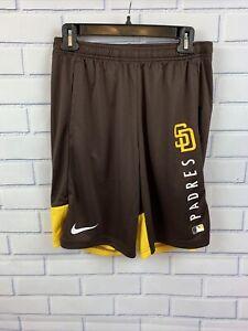 Nike San Diego Padres Brown Dri-Fit Training Shorts Size S, M, XL  (NKJ5-917Z)