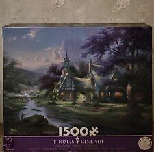 1500pc Thomas Kinkade jigsaw puzzle+bonus poster