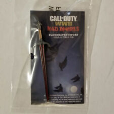 Call Of Duty: WW2 WWII Valor Edition Nazi Zombies Bloodraven Sword Pin (NO Game)