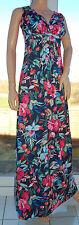 Womens Brand new Club L Tropical Maxi Dress size 12