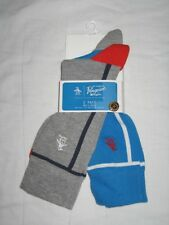 BNWT ORIGINAL PENGUIN Mens Socks Bright Blue  Grey    2 Pairs