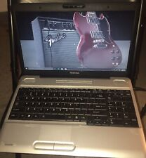 Used Toshiba Satellite L500 Laptop 500GB HD 4GB Memory W/Windows 10 OS And More.