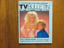 Feb. 17, 1985 Santa Ana, Ca. Bulletin TV Magazine(SUZANNE SOMERS/ANGIE DICKINSON