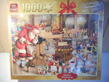 KING SANTA'S WORKSHOP CHRISTMAS 1000 PIECE JIGSAW PUZZLE NEW