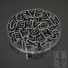 Stainless Steel 26 Letter Alphabet Fondant Cookie Biscuit Cake Mold Mould Cutter