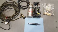 MRE AIR SHIFTER KIT WITH AIR TANK AIR PUMP AND NEW POLISHED SHIFTER GSXR DYNATEK