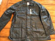 American Outdoorsman The Huntsman Series Men's Size Large Rain Jacket, Navy