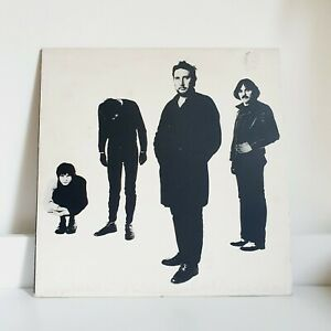 THE STRANGLERS BLACK AND WHITE CLASSIC ROCK PUNK NEW WAVE LP FIRST PRESS A1 B1