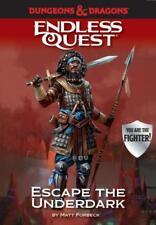 D&D An Endless Quest Adventure - Escape the Underdark - hard cover