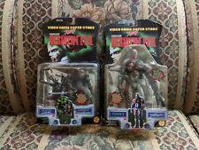 Resident Evil - Tyrant, Hunter & Chimera Action Figures Toy Biz - Video Game