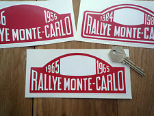 Rallye Monte Carlo y 6 pulgadas Rally pegatinas Healey 3000 Mini