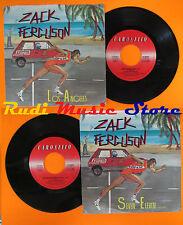 LP 45 7'' ZACK FERGUSON Los angeles Seven eleven 1984 italy CAROSELLO cd mc dvd*