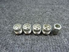 👍 1988-2018 GM OE LOCKING LUG NUTS LOCKS X4 14X1.5mm DUAL THREAD UNDER CTR CAPS