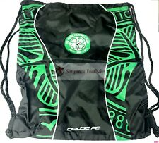 Celtic FC Gym Bag Fade Swim / School Green Black