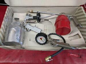 Air Tool KIT Inc Spray/Blow/Paraffin Gun,Tyre Inflator (no hose)