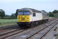 Class 56 56103 & 56312 6x4 Quality British Rail Photo