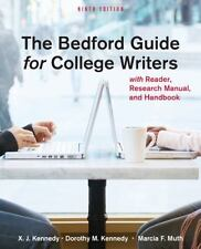 The Bedford Guide for College Writers, 9th ed. 2011