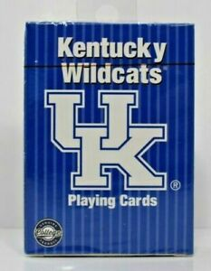 PlayMonster - NCAA Collegiate Teams Playing Cards Kentucky Wildcats New/Sealed