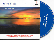 ANDRE HAZES - Vaarwel CD SINGLE 2TR Dutch Cardsleeve 1997 (EMI) Holland