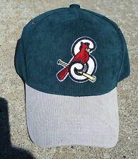 St Louis Springfield Cardinals Green Corduroy Hat NEW SGA