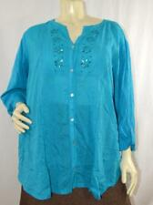 AVENUE WOMEN LOVELY TOP BLOUSE Sz 26/28. New without tags #P409