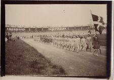 Lyon 1926 Fêtes de la Jeunesse Gymnastique Sport France Photo n3 Vintage