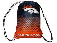 Denver Broncos Fan Gymbag orange NFL Turnbeutel Sportbeutel 45x35cm Tasche