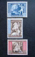 Germany Nazi 1942 Stamps MNH Overprint Postilion European Postal Congress Vienna