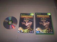 COMMANDOS 2 MEN OF COURAGE  vf complet cd  livrets xbox