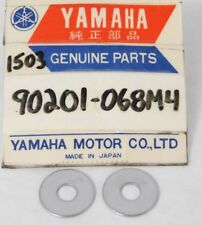 2 NEW Genuine Yamaha Motorcycle ATV Marine OEM Hardware Parts 90201-068M4 Washer