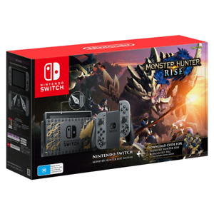 Nintendo Switch Monster Hunter Rise Edition Console NEW
