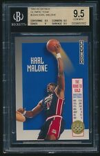 1992-93 Skybox Olympic Team #USA4 Karl Malone USA BGS 9.5