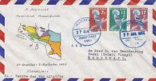 Nederlands Nieuw Guinea FDC Kroonduif serie 1959 Jaarmarkt Manokwari / OG013