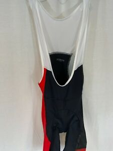 Sugoi Evolution Bib Shorts Men's Size Large Black, Red, White New With Tags