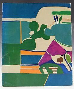 Francoise Gilot Hand Signed Exhibition Catalog 1982
