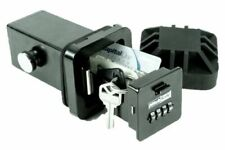 """HitchSafe HS7000T 2"""" Trailer Hitch Receiver Solid Steel Safe Combination Key Box"""