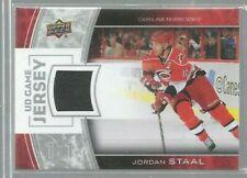2013-14 Upper Deck Game Jerseys #GJST Jordan Staal 1F (ref48098)