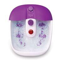 Sensio Spa Therapeutic Relax Bubble Foot Feet Spa Bath - Massage Pamper Pedicure